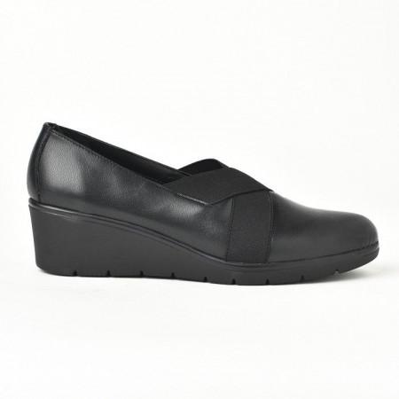 Slika Kožne ženske cipele 664020 crne