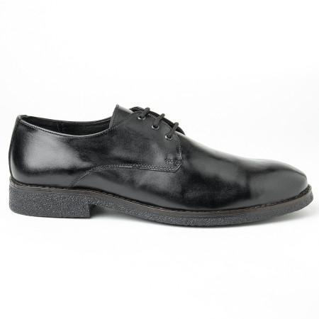 Slika Muške kožne cipele Gazela 3131-01 crne