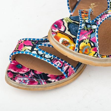 Slika Ravne sandale sa kožnom tabanicom 7-826
