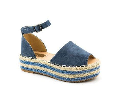 Slika Sandale na debelom đonu LS90212 plave