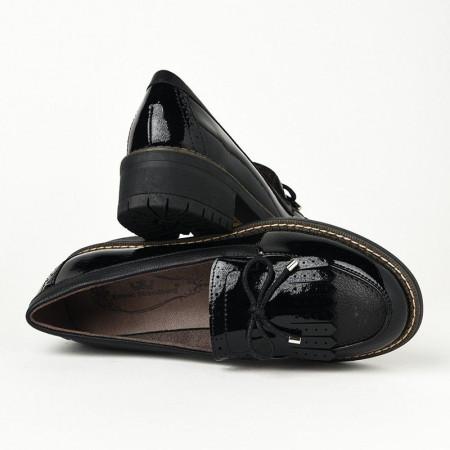 Slika Ženske lakovane cipele C1838 crne