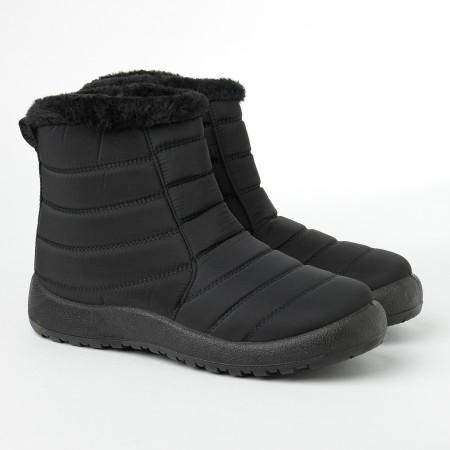 Slika Zimske poluduboke čizme CA542-1 crne