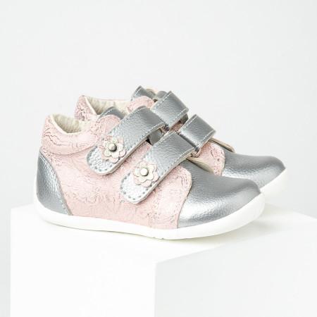 Slika Dečije cipele sa anatomskim uloškom S02 srebrno-roze