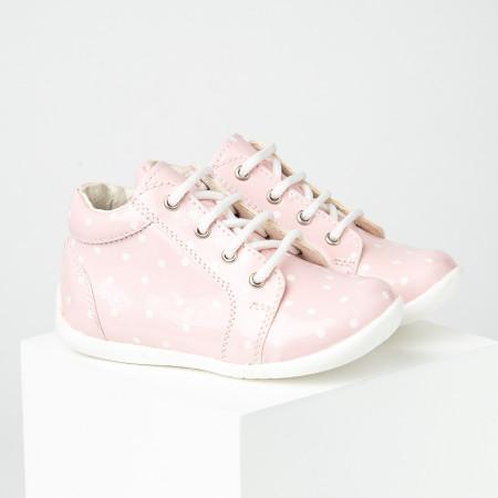 Slika Dečije cipele sa anatomskim uloškom S07 roze lakovane