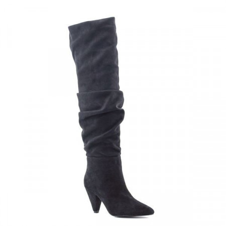 Slika Duboke čizme na štiklu LX86267 crne