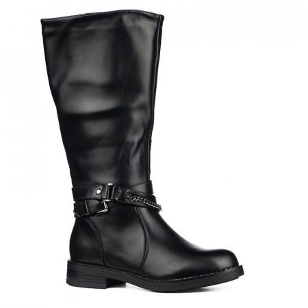 Slika Duboke ženske čizme LX191825 crne
