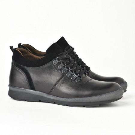 Slika Kožne muške cipele 314 crne