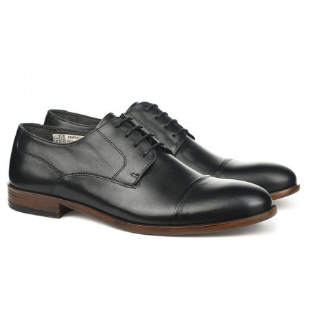 Slika Kožne muške cipele Javina crne