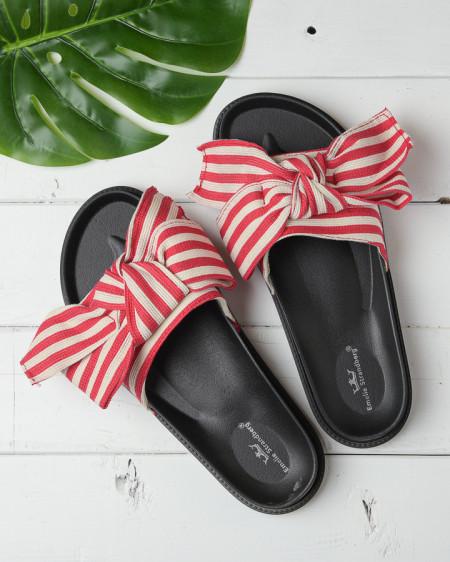Slika Ravne papuče A3 crvene