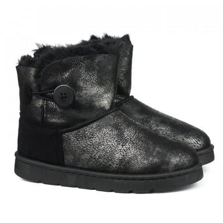 Slika Tople čizme LH181800 crno-sive
