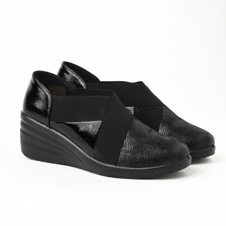 Slika Ženske lakovane cipele L081932 crne