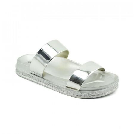 Slika Ženske papuče LP020372 srebrne