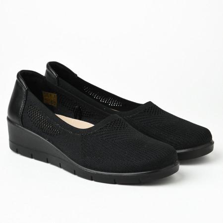 Slika Ženske streč cipele L055250 crne