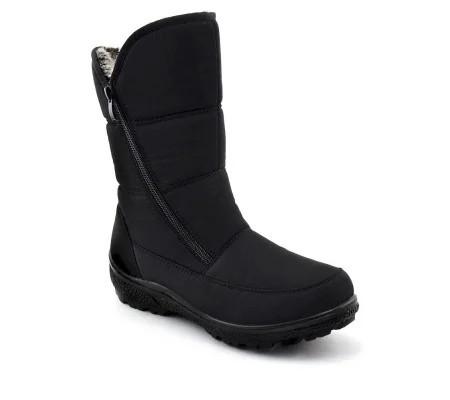 Slika Zimske poluduboke čizme LH095415 crne