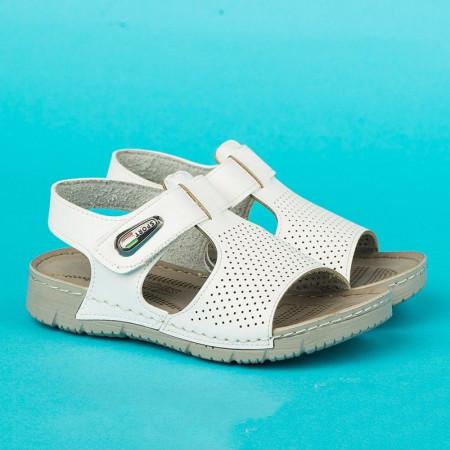 Slika Anatomske dečije sandale 261 bele