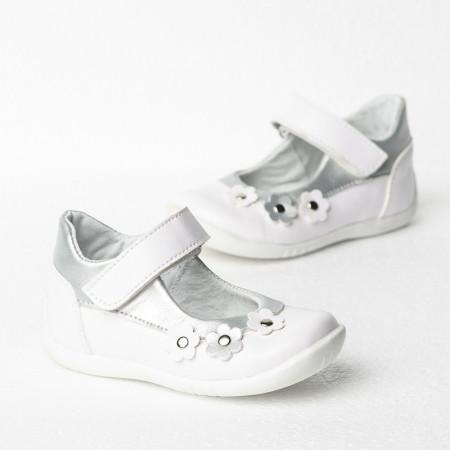 Slika Dečije cipele sa anatomskim uloškom 1025/1 bele