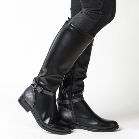Slika Duboke ženske čizme LX601808 braon