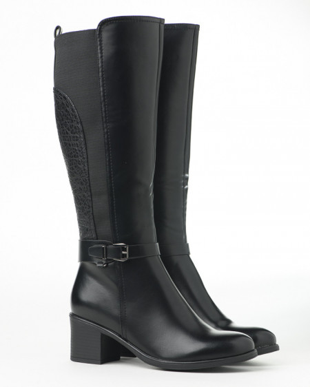 Slika Duboke ženske čizme LX601926 crne