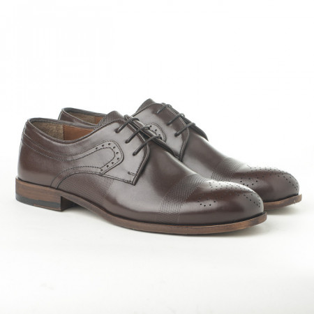 Slika Kožne muške cipele 1781 braon
