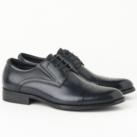 Slika Kožne muške cipele KT853-16E235 teget