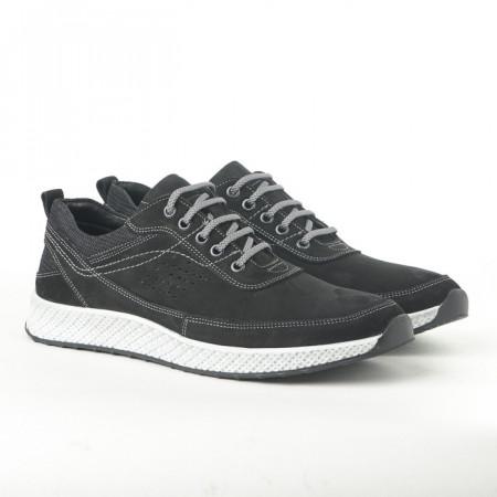 Slika Kožne muške patike-cipele 91528-1 crne