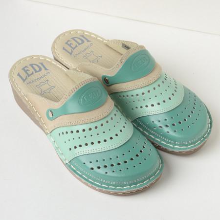 Slika Kožne papuče 670 zelene