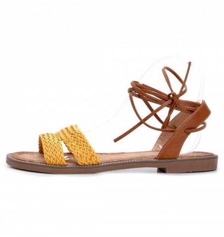 Slika Ravne sandale LS271904 žute