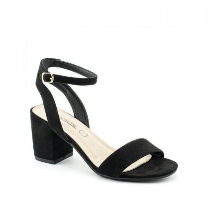 Slika Sandale na malu štiklu LS91560 crne