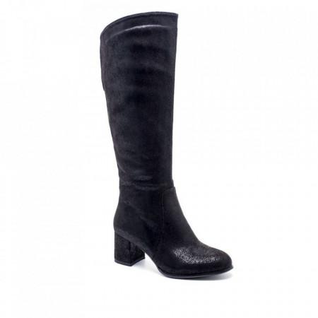 Slika Ženske duboke čizme LX051056 crne