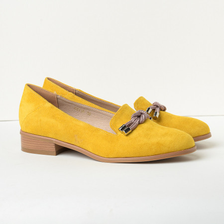Slika Cipele na malu petu C2118 žute