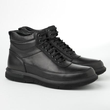 Slika Kožne muške cipele 2806 crne