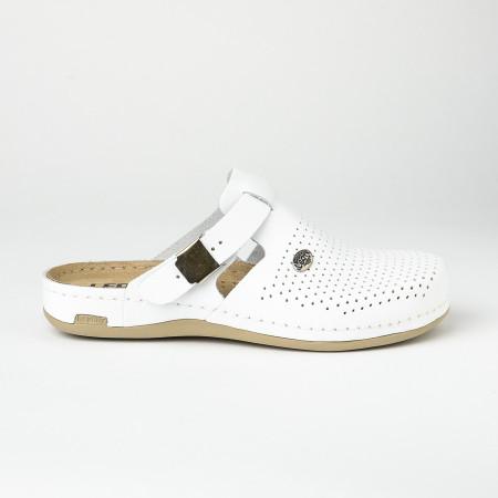 Slika Kožne papuče/klompe 950 bele