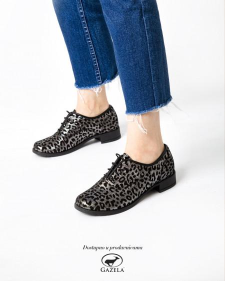 Slika Kožne ženske cipele A13-37/ 12 crne