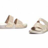 Slika Ravne papuče LP021925 srebrne