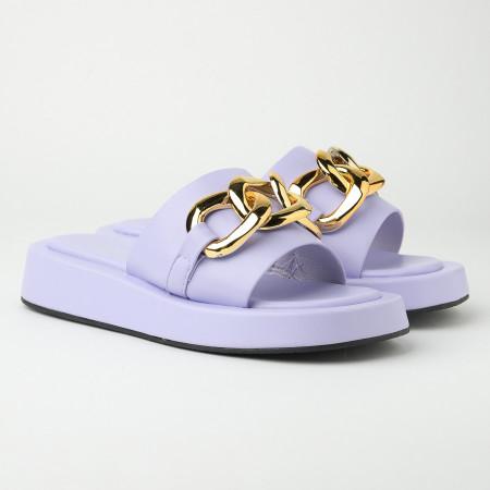 Slika Ravne ženske papuče WL3083 lila