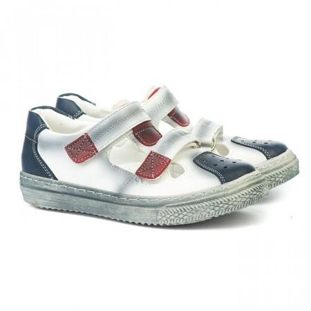 Slika Sandale za dečake 190 bele (brojevi od 25 do 35)