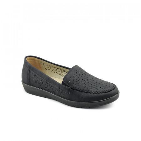 Slika Ženske cipele / mokasine L020813 crne