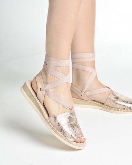 Slika Ženske sandale/espadrile LS062029 roze