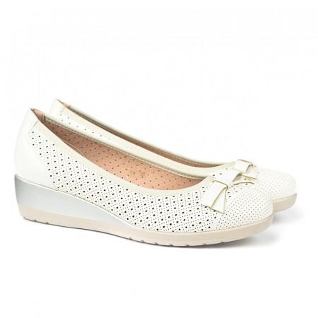 Slika Cipele / baletanke na malu petu K5 bele
