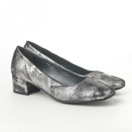 Slika Cipele na malu štiklu K-126/5 srebrne