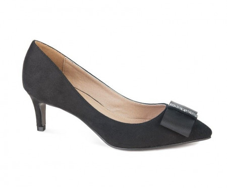 Slika Cipele na malu štiklu WSH15010 crne