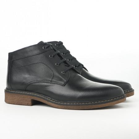Slika Kožne muške cipele AP486 crne