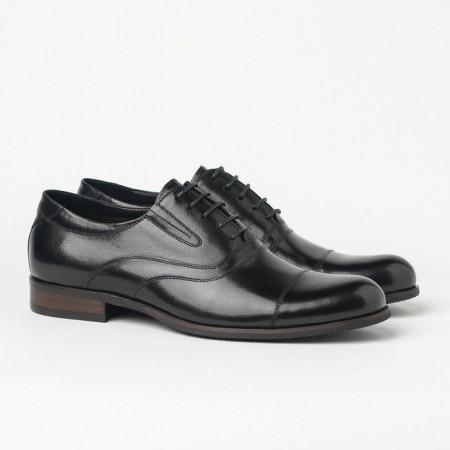 Slika Kožne muške cipele BY320-102-H40 crne