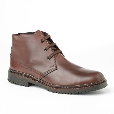 Slika Muške kožne cipele 8141-06 braon