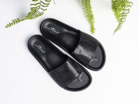 Slika Ženske gumene papuče A4 crne