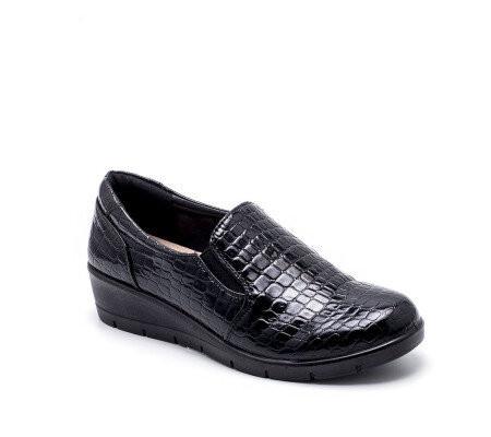 Slika Cipele na malu petu L050201 crne