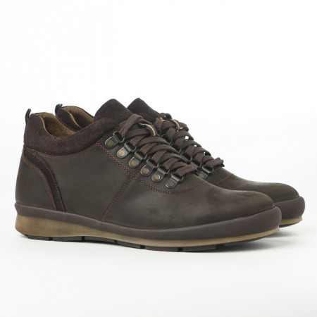 Slika Kožne muške cipele 314 braon