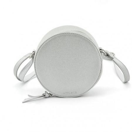 Slika Okrugla torba T021000 srebrna