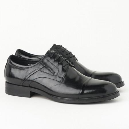 Slika Kožne muške cipele HL-307D-7A crne