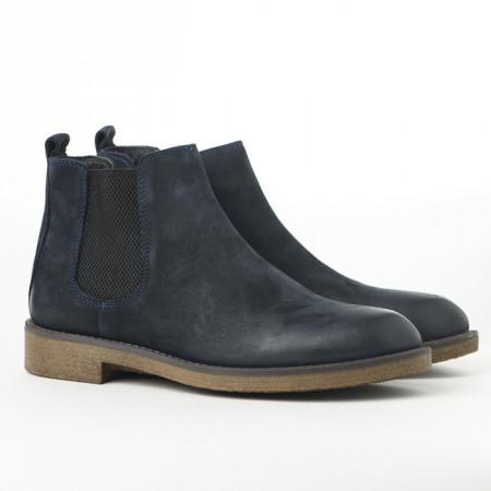 Slika Kožne muške cipele P2050/1895 teget